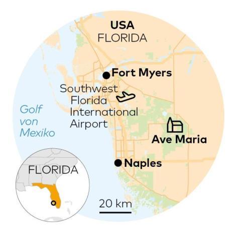 Ave Maria in Florida, USA