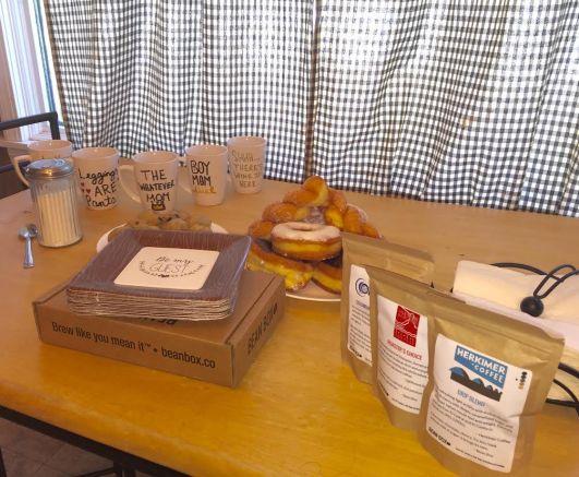 bean box table