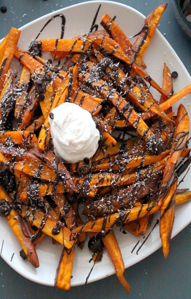 Sweet Potato Dessert Fries  The Wheatless Kitchen