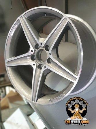 Diamond Cutting Alloy Wheel