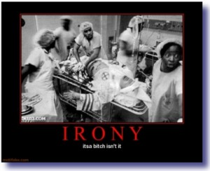 irony kkk black hospital demotivational 300x244 Hurricane Sandy Destroys Republican Ideology