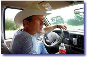George Bush Crawford Ranch 300x198 How A Real President Responds To Crisis