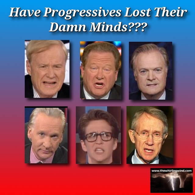 have progressives lost their damn minds header Have Progressives Lost Their Damn Minds?