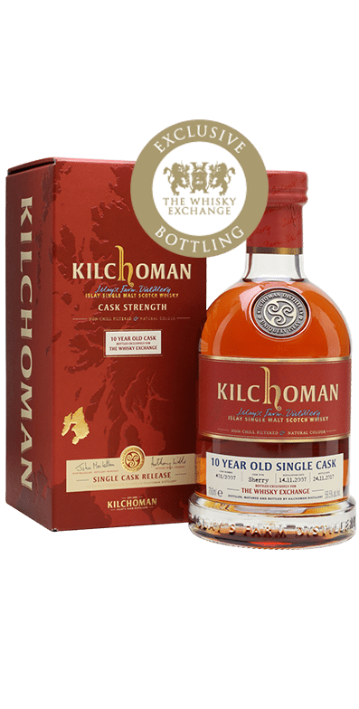 Kilchoman 2007 Single Sherry Cask TWE Exclusive Bottle