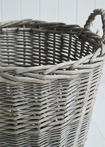 white living room furniture ireland tables for the grey willow round storage logs toy basket from ...