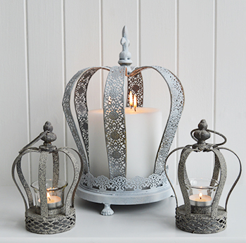 white living room furniture ireland beautiful accessories grey crown tea light candle holder - the lighthouse ...