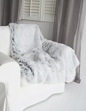 white living room furniture ireland pictures of colors for walls grey fur throw bed or sofa
