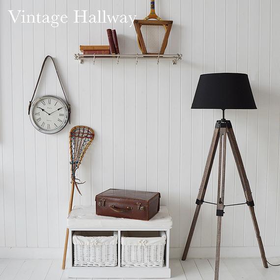 Hall Furniture Vintage Hallway Decorating Ideas