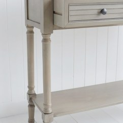 Living Room Furniture For Sale Ideas Placement Newport French Grey Console Table Country Cottage ...