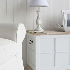 Star Furniture Sofa Table Best Upholstery For Cats Vermont Small White Storage Trunk - Tv Stand, Hall ...