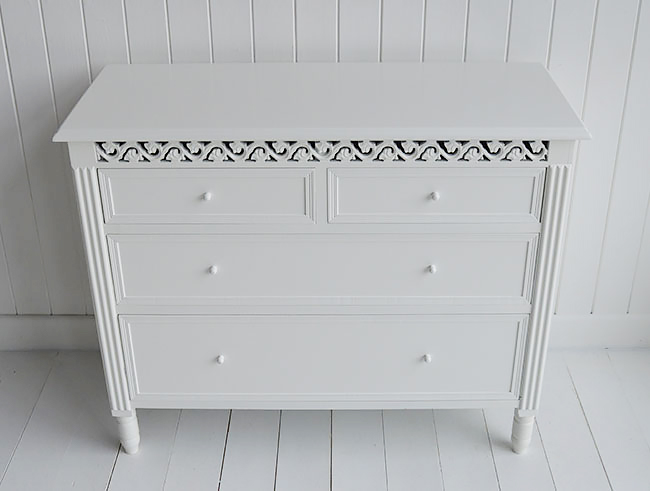 New England White Chest Of Drawers The White Lighthouse