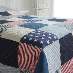 Side Tables Living Room Uk Modern Wallpaper For American Stars And Stripes Quilt In Single Double ...