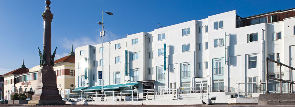 The White Rock Hotel  A seaside hotel in Hastings on the
