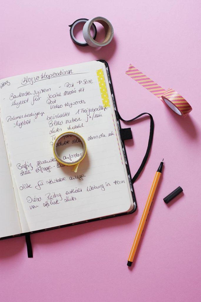 Wie ihr mit Washi-Tape eure Notizen organisiert! | Mi-Mini