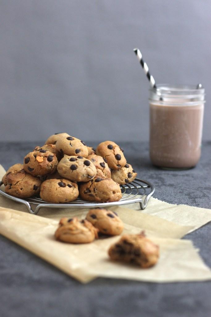 Süßkartoffel-Cookies für eure Halloween Gäste
