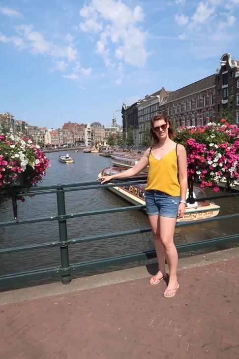 Amsterdam und eine seiner vielen schönen Grachten
