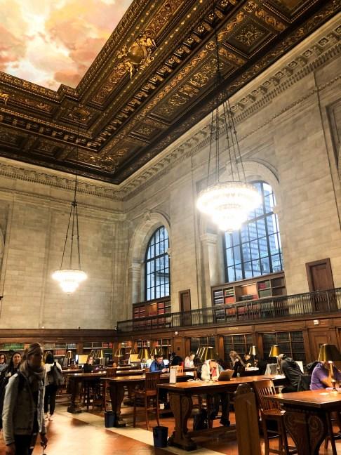 Die große New Yorker Bücherei