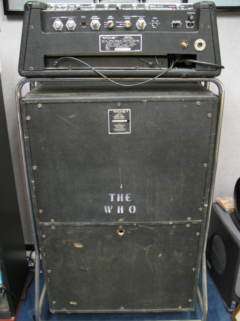 John Entwistle Gear 19671968  John Entwistle Bass Gear