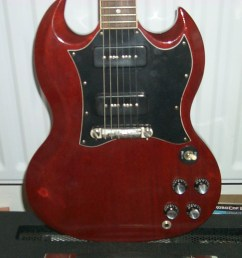 click to view larger version gibson pete townshend signature sg front close courtesy [ 941 x 955 Pixel ]