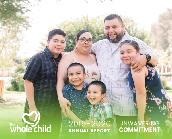 View the 2019/20 Annual Report for The Whole Child