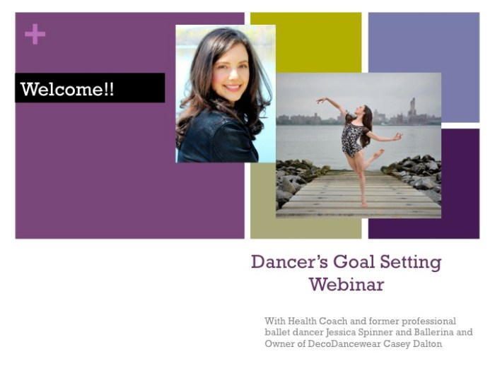 Goal Setting for Dancers