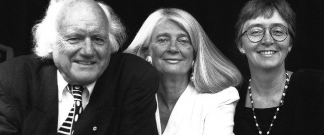 Elmer Iseler, Jessie Iseler and Lydia Adams, 1996. Photo: Maura McGroarty