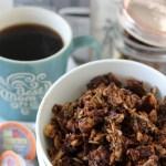 grain-free mocha granola