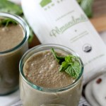 No-Sugar-Added Chocolate Mint Superfood Smoothie