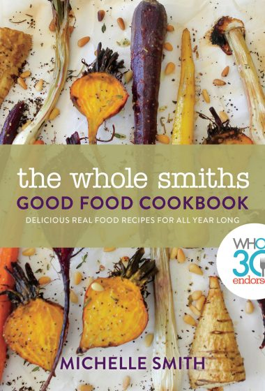 Pre-Order your copy of The Whole Smiths Good Food Cookbook today! It's WHole30 endorsed and has tons of Whole30 recipes and recipes perfect for your Food Freedom.