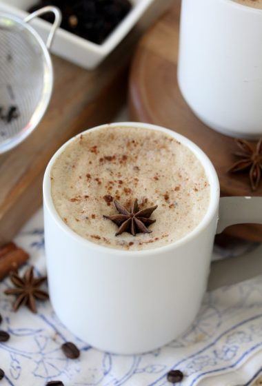 This Dairy-Free Dirty Chai Latte is the perfect way to start your morning. Paleo friendly and delicious!