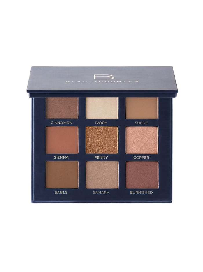 beautycounter classic eye shadow palette