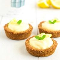 Delectable Lemon Granola Tartlets