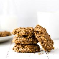 Peanut Butter Breakfast Cookies {Vegan, GF}