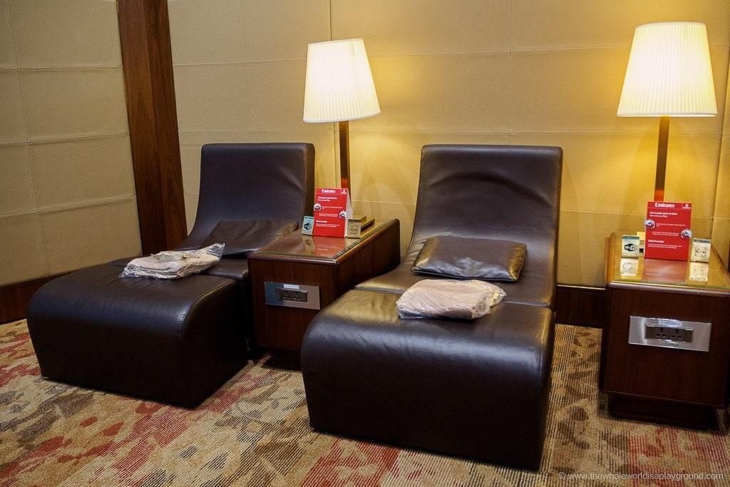 Emirates Dubai Business Class Lounge A Gates Terminal 3