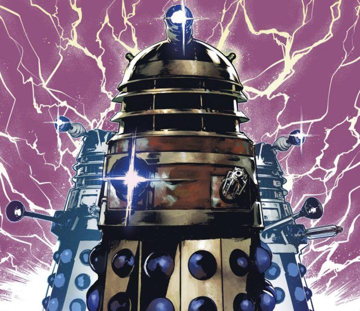 Defender of the Daleks Variant Cover