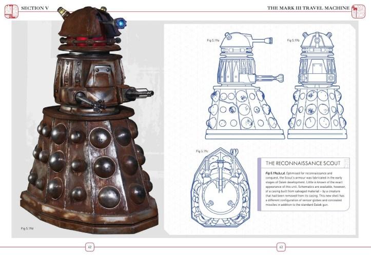 The Reconnaissance Scout - Dalek Combat Manual (c) BBC Books