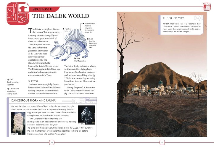 The Dalek World - Dalek Combat Manual (c) BBC Books