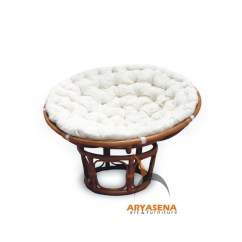 Replacement Papasan Chair Cushion Wheelchair Umbrella Cushions Simple Love Seat Chenille
