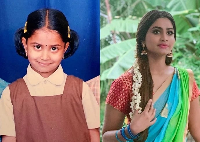 shivani narayanan childhood photo