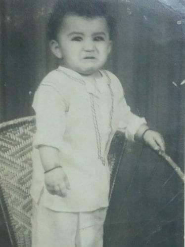 nirmal soni childhood photo