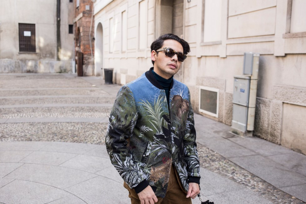 "47592fc4d3 Milano Moda Uomo AW19 Outfits ""Etro Jungle"""