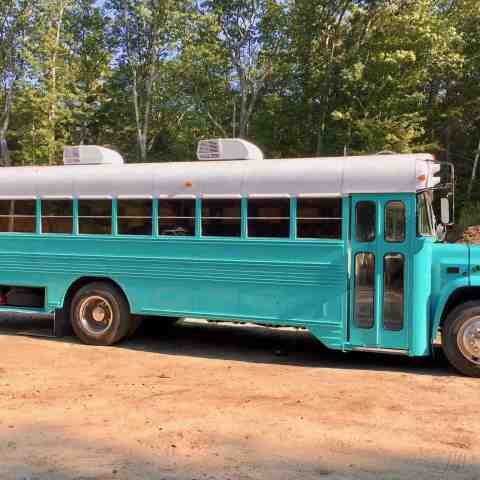 Painting Our Bus: A Test of Patience & Dedication to the Tiny Living Dream