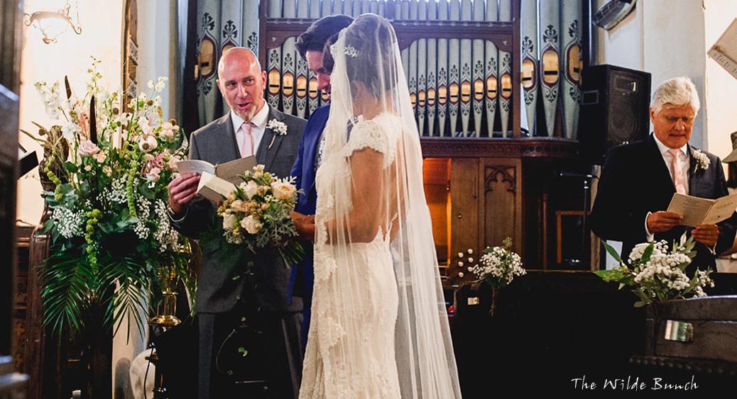 Church Wedding Flowers  The Wilde Bunch Wedding Blog