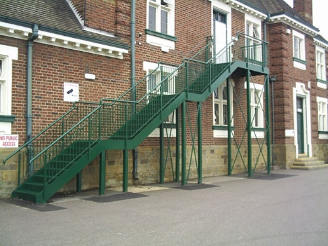 Fire Escape Stairs   Steel Fire Escape Stairs   Architectural   Internal   Industrial   Emergency   Fire Exit