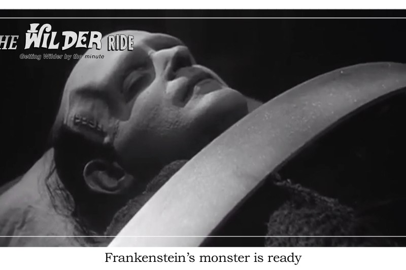Young Frankenstein Episode 42: You can copy all you want except for his head
