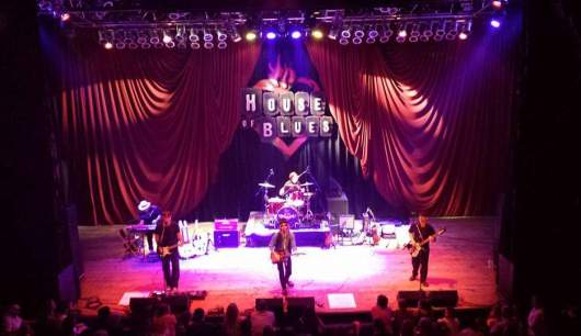 The Wildflowers at House of Blues Myrtle Beach 2016