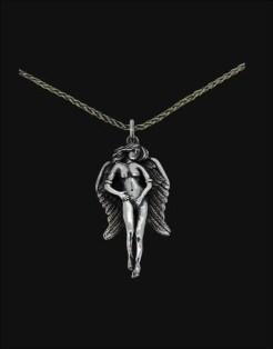 libertas angel pendant