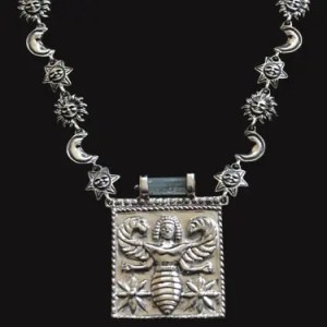 Bespoke Platinum and Silver Necklace