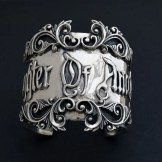 Heavy silver cuff