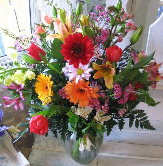 large summer floral